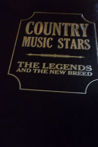 Country Music Stars hard cover new ( Best Offer )