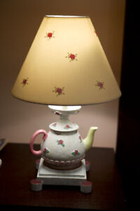 Girls Lamp and Chandelier