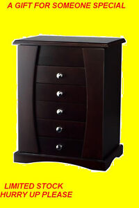 TABLE TOP JEWELLERY BOX WITH MAKE- UP MIRROR $89ONLY Oakville / Halton Region Toronto (GTA) image 1