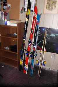 Rossignal skis, and atomic child ski