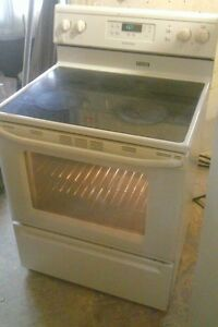 Maytag ceramic top,  self cleaning stove - delivery available