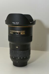 Nikon 16-35 mm F 4 wide angle zoom lens .