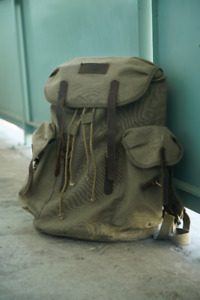 """New backpack """"World Famous Klemper Canvas"""""""