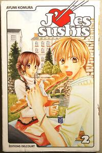 J'aime les sushis Manga Volume 2