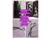 Scissors & thinners in case