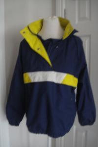iSPO Jacket Women's Size M. Men's S. Hooded Windbreaker
