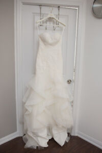 "SELLING: ""JABEL"" BY PRONOVIAS WEDDING DRESS SIZE 6"