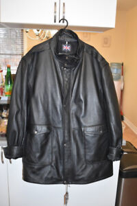 3/4 NEW LEATHER COAT MADE BY SOUL OF LONDON