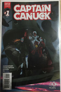 Comic books Captain Canuck set of 15
