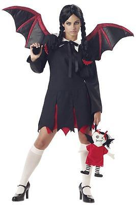 Gothic Very Bat Girl Teen Costume (Girls Bat Girl Costume)