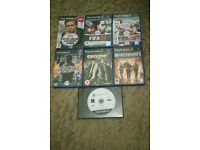 Sony Playstation 2 games 7 in totall
