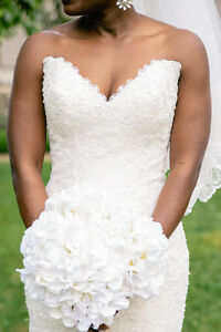 Stunning Lace Maggie Sottero Wedding Gown