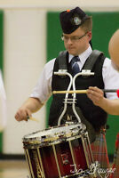 Pipe Band Snare lessons and Drum corps lessons