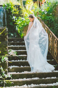 Anne Barge - Blue Willow 'Finlay' Wedding Dress (Size 12)