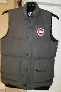 Men Canada Goose vest xs Graphite Grey