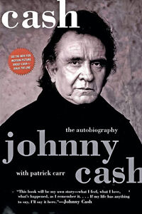Johnny Cash-Cash The Autobiography-Softcover-Good copy +