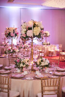 Gold Chiavari Chairs & Cushions - Rent only $7