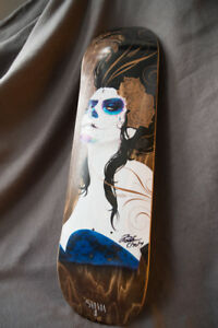 Arbor Sylvia JI Skateboard Deck Signed By Founder