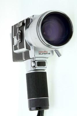 Minolta Autopack 8 D10 Super 8 Movie Camera With 7-70mm F1.8 Lens - $37.00