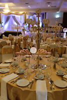 Centerpieces Creations for your Wedding or Party by Pearl Decor!