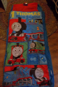 New Thomas Train Sleeping Bag  Inflatable bed
