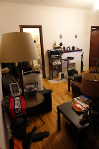 NDG 3 1/2 lease take over, near loyola campus.available now asap