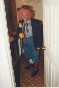 CLOWN COSTUME - ONE SIZE FITS ALL