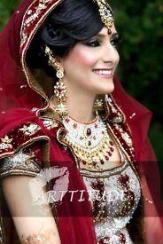 Professional Asian/English freelance / mobile Bridal/party Hair & makeup artist