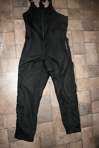Snowmobile Bib Pants, Mens Size Medium