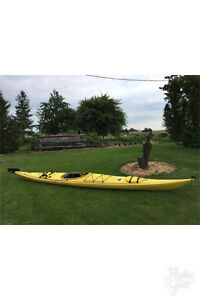 17' perception sea kayak