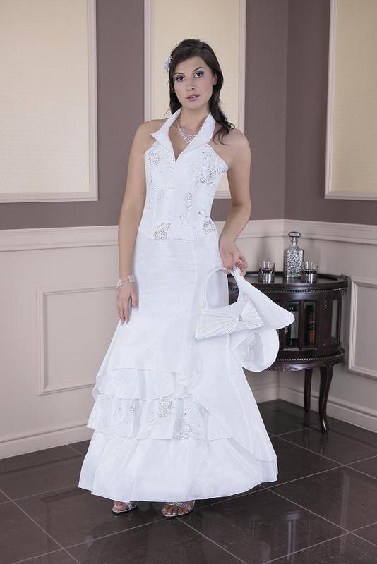 Hochzeitskleid Brautkleid Hochzeit Braut Corsage Kleid Rock Abendkleid weiß