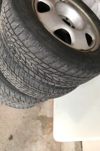 Toyo Winter Tires with Rims 17 inch