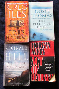 Lot of 8 Soft cover Fiction Books in great condition- see list