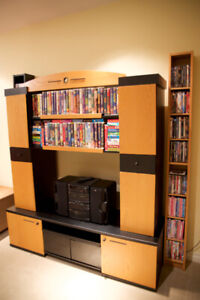 TV/Stereo Wall Storage Unit