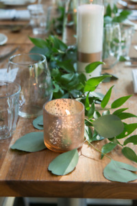 Wedding: Copper Votive Candle Holders