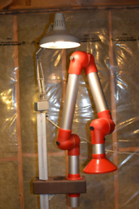 Fume / Dust Extraction Arm on Stand, Blower, Flex Exhaust