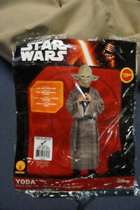 Kids Halloween Costume Star Wars Yoda Size 5-7