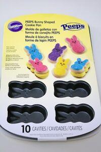 Wilton Peeps 10 Cavity Cookie Pan