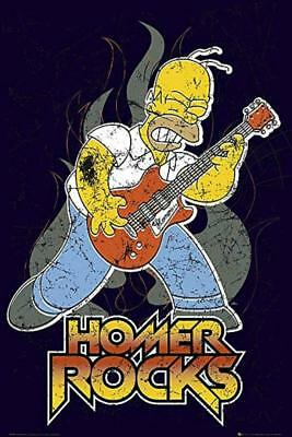 (Die Simpsons: Homer Rocks - Maxi-Poster 61cm X 91.5cm New And Sealed)