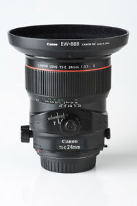 Canon TS-E 24mm F3.5 L II (Tilt Shift) Lens