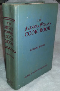 1952 AMERICAN WOMAN'S COOKBOOK country kitchen decor