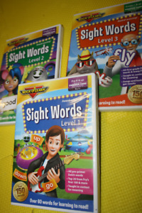 """""""Rock and Learn"""" Sight words 3  dvd"""