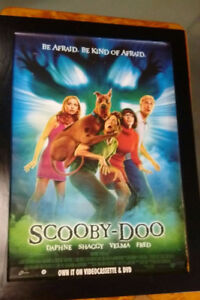 SCOOBY DO MOTION PICTURE POSTER RELEASE