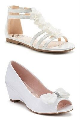 Girls White Shoes Sandals New](Girls White Dress Shoes)