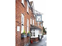 Chef de Partie - (Live-in available) at The White Hart in Chobham