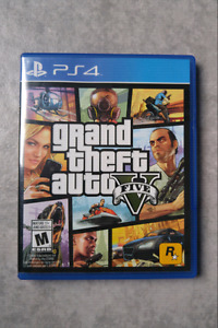 Grand Theft Auto V (GTA V) PS4