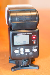 Nikon SB-600 Speedflash flash
