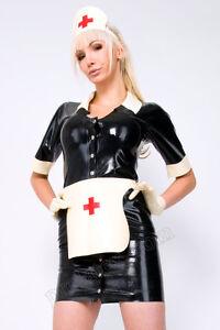 latex gummi klinik uniform kleid von latexa rubber nurse 3. Black Bedroom Furniture Sets. Home Design Ideas