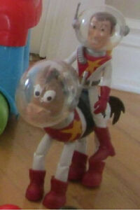 WOODY ET SON CHEVAL ASTRONAUTE TOYS STORY