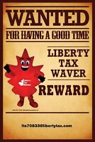 COME WAVE WITH US AT LIBERTY TAX SERVICES